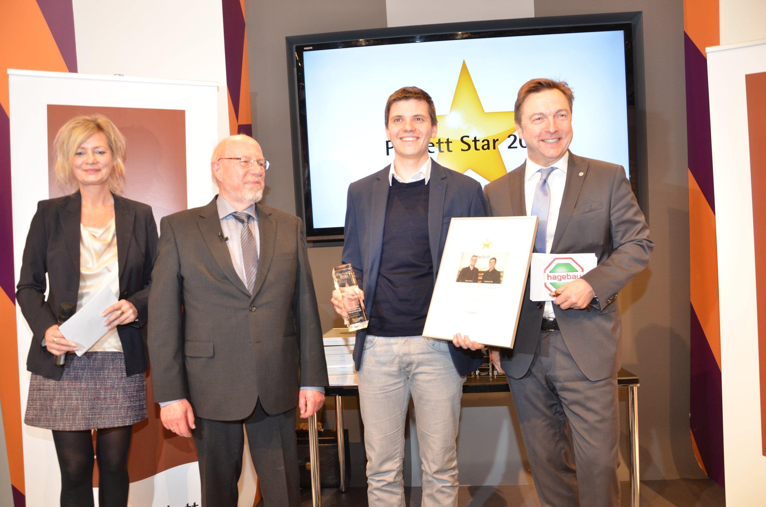 Hertog Parkett ausgezeichnet mit dem parkett 2017 als beste parkett
